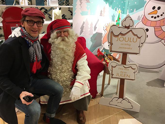 Joulupukilta Harri pyysi vastuullista viisautta suurten arviointisaappaiden täyttämiseen.