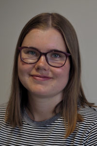 Henkilökuva, korkeakouluharjoittelija Laura Kauppinen.